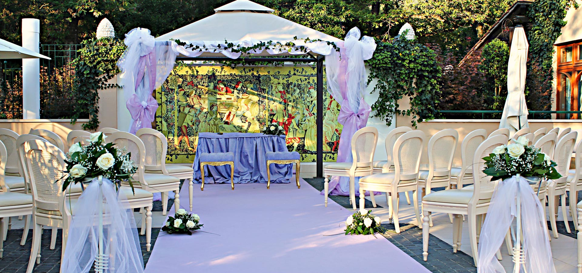 location matrimoni roma